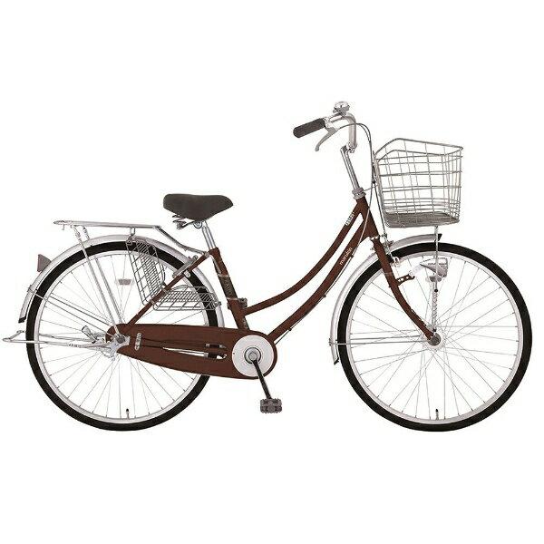【送料無料】 MARUKIN 26型 自転車 レイニーホームHD 261-K(d-ブラウン/シングルシフト) MK-18-010【2018年モデル】【組立商品につき返品不可】 【代金引換配送不可】【メーカー直送・代金引換不可・時間指定・返品不可】