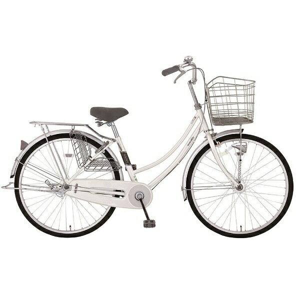 【送料無料】 MARUKIN 27型 自転車 レイニーホームHD 271-K(ホワイト/シングルシフト) MK-18-012【2018年モデル】【組立商品につき返品不可】 【代金引換配送不可】【メーカー直送・代金引換不可・時間指定・返品不可】