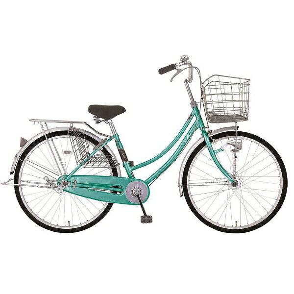 【送料無料】 MARUKIN 27型 自転車 レイニーホームHD 271-K(グリーン/シングルシフト) MK-18-012【2018年モデル】【組立商品につき返品不可】 【代金引換配送不可】【メーカー直送・代金引換不可・時間指定・返品不可】
