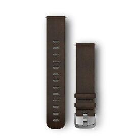 GARMIN ガーミン ウェアラブル端末vivomoveHR用交換ベルト 20mm 010-12691-11 DarkBrown Leather[0101269111]