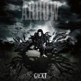 ファーストディストリビューション GACKT/ARROW(DVD付) 【CD】【発売日以降のお届けとなります】