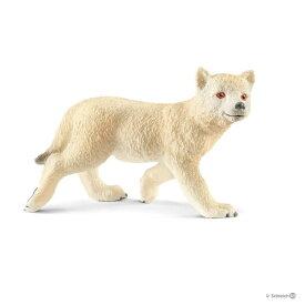 シュライヒジャパン Schleich シュライヒ 14804 ホッキョクオオカミ(仔)