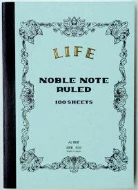 ライフ LIFE [ノート]ノーブルノート(A5判・8mm横罫・100枚) N39