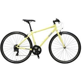 NESTO ネスト 700×32C型 クロスバイク バカンゼ1-K(ライトイエロー/440サイズ《適応身長:160cm以上》) NE-18-005【2018年モデル】【組立商品につき返品不可】 【代金引換配送不可】