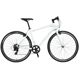 NESTO ネスト 700×32C型 クロスバイク バカンゼ2-K(ホワイト/480サイズ《適応身長:170cm以上》) NE-18-006【2018年モデル】【組立商品につき返品不可】【b_pup】 【代金引換配送不可】