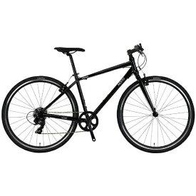 NESTO ネスト 700×32C型 クロスバイク バカンゼ2-K(ブラック/440サイズ《適応身長:160cm以上》) NE-18-006【2018年モデル】【組立商品につき返品不可】【b_pup】 【代金引換配送不可】