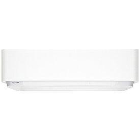 東芝 TOSHIBA RAS-E566DR-W エアコン 2018年 大清快 E-DRシリーズ グランホワイト [おもに18畳用 /200V][RASE566DRW+RASE566AD]