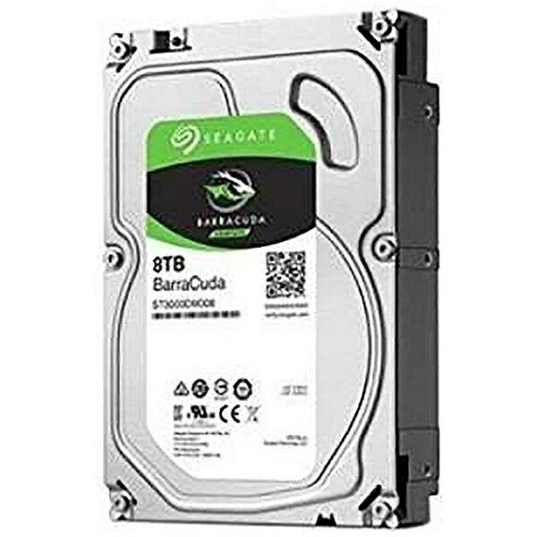 SEAGATE シーゲート ST8000DM004 内蔵HDD BarraCuda [3.5インチ /8TB][ST8000DM004]