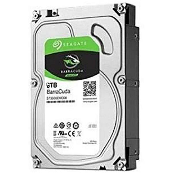 【送料無料】 SEAGATE(シーゲート) 内蔵HDD 6TB バルク品[3.5インチ・SATA] BarraCudaハードディスク・ドライブ ST6000DM003