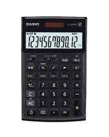 カシオ CASIO 本格実務電卓 モノトーンブラック JS-20WK-MBK-N [12桁][JS20WKMBKN]