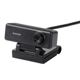 エレコム ELECOM UCAM-C310FBBK ウェブカメラ ブラック [有線][UCAMC310FBBK]