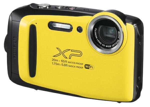 【送料無料】 富士フイルム FUJIFILM XP130 コンパクトデジタルカメラ FinePix(ファインピックス) イエロー [防水+防塵+耐衝撃]