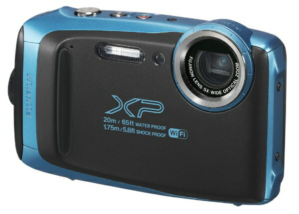 【送料無料】 富士フイルム FUJIFILM XP130 コンパクトデジタルカメラ FinePix(ファインピックス) スカイブルー [防水+防塵+耐衝撃]