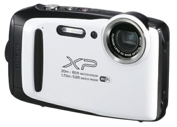【送料無料】 富士フイルム FUJIFILM XP130 コンパクトデジタルカメラ FinePix(ファインピックス) ホワイト [防水+防塵+耐衝撃]