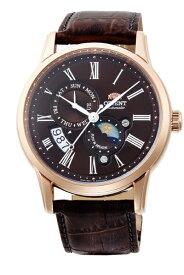 オリエント時計 ORIENT オリエント(Orient)「クラシック SUN&MOON セミスケルトン」 RN-AK0002Y