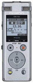 オリンパス OLYMPUS DM-750 ICレコーダー Voice-Trek シルバー [4GB][録音機 ボイスレコーダー 小型 高音質 長時間]