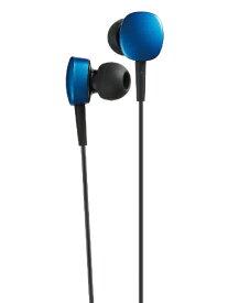 JVC ジェイブイシー イヤホン カナル型 HA-FX14-A ブルー [φ3.5mm ミニプラグ][HAFX14A]