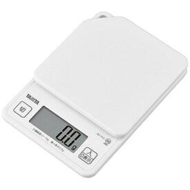 タニタ TANITA デジタルクッキングスケール (1kg) KJ114-WH ココナッツホワイト[KJ114WH]【rb_pcp】