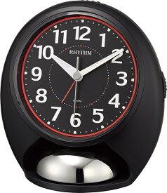 リズム時計 RHYTHM 目覚まし時計 タフバトラーラウド 黒 4RA480SR02 [アナログ]