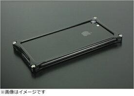 GILD design ギルドデザイン iPhone 8用 ソリッドバンパー ポリッシュブラック GI-402PB