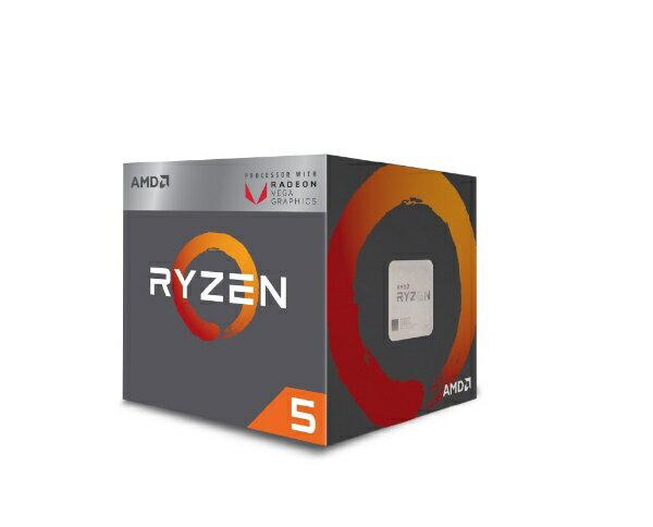 【送料無料】 AMD 〔CPU〕 AMD Ryzen 5 2400G with Wraith Stealth cooler YD2400C5FBBOX