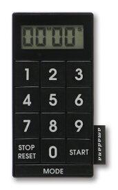 TAGlabel by amadana タグレーベル バイ アマダナ 【ビックカメラグループオリジナル】デジタルキッチンタイマー kitchen timer AT-KT11(BK)[ATKT11BK]【point_rb】
