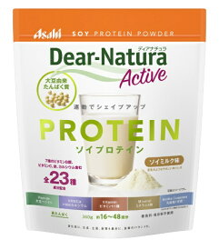アサヒグループ食品 Dear-Natura(ディアナチュラ)ディアナチュラアクティブ ソイプロテインソイ ミルク 360g 〔栄養補助食品〕