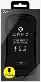 エアージェイ air-J iPhone X用 ハード型衝撃吸収素材ケース ブラック ACP8AZBK