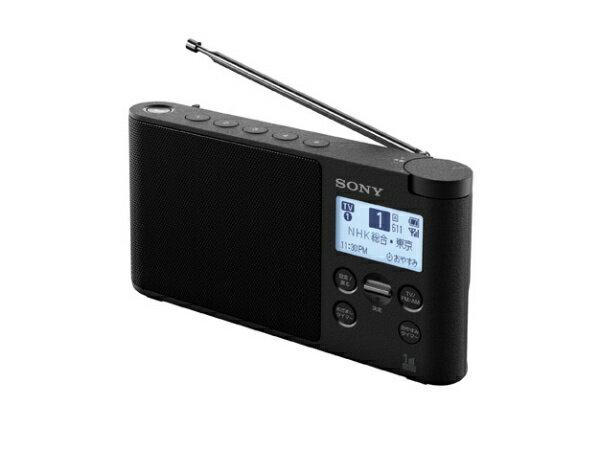 ソニー SONY XDR-56TVBC ホームラジオ ブラック [テレビ/AM/FM /ワイドFM対応][XDR56TVBC]