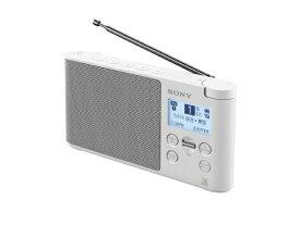 ソニー SONY ホームラジオ ホワイト XDR-56TVWC [テレビ/AM/FM /ワイドFM対応][XDR56TVWC]