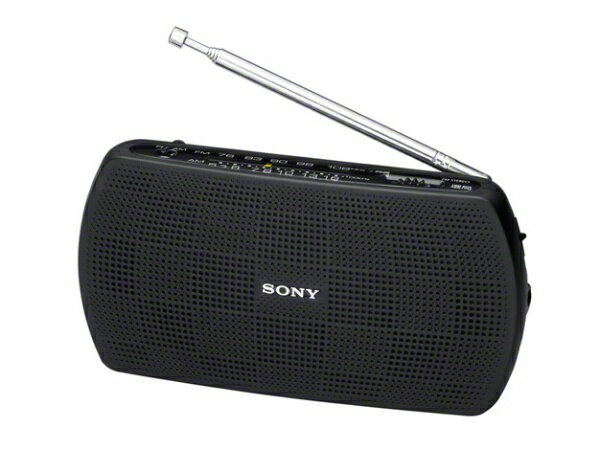 ソニー SONY SRF-19BC 携帯ラジオ ブラック [AM/FM /ワイドFM対応][SRF19BC]