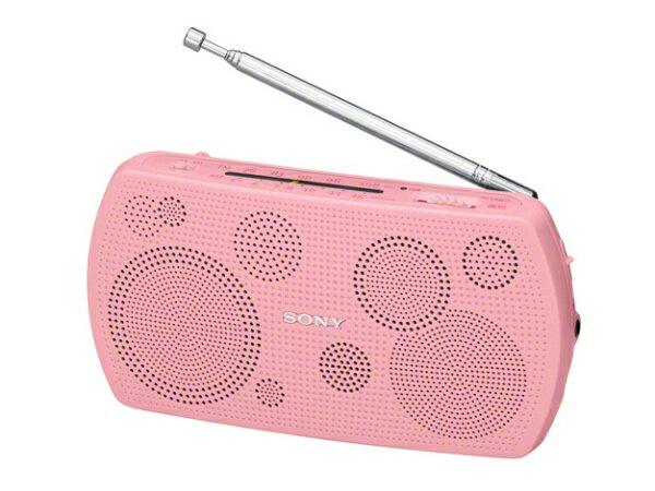 ソニー SONY SRF-19PC 携帯ラジオ ピンク [AM/FM /ワイドFM対応][SRF19PC]