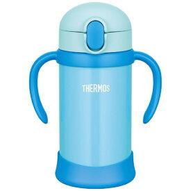 サーモス THERMOS まほうびんのベビーストローマグ 350ml ブルー FHV350-BL[FHV350BL]