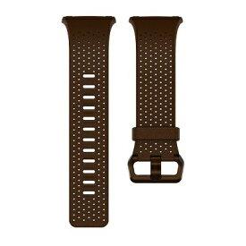 Fitbit フィットビット ウェアラブル端末ionic用交換バンド レザーバンド Lサイズ FB164LBDBL コニャック(DarkBrown)[FB164LBDBL]