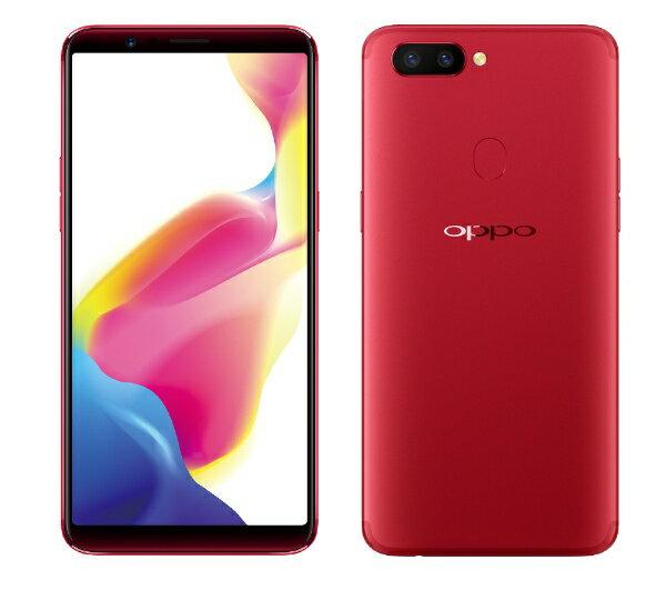 【送料無料】 OPPO OPPO R11s Red 「R11s」Android 7.1.1 6.01型 メモリ/ストレージ:4GB/64GB nanoSIM×2 SIMフリースマートフォン R11s Red Red[R11SRD]