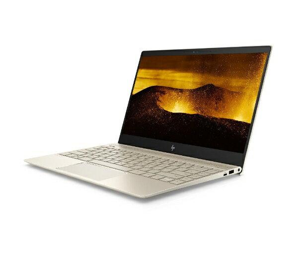 【送料無料】 HP HP ENVY 13-ad129TU 13.3型ノートPC[Win10 Home・Core i5・SSD 512GB・メモリ 8GB]2018年2月モデル 2YC81PAAAAK シルクゴールド