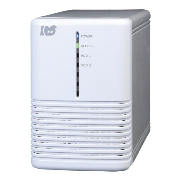 ラトックシステム RATOC Systems USB3.0 RAIDケース (HDD2台用) ホワイトシルバー RS-EC32-U3RWSX[RSEC32U3RWSX]