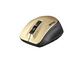BUFFALO バッファロー BSMLW500MGD マウス ゴールド [レーザー /5ボタン /USB /無線(ワイヤレス)][BSMLW500MGD]