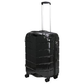 シフレ siffler USBポート付きスーツケースTRI2066-58ヘアラインBK 【メーカー直送・代金引換不可・時間指定・返品不可】
