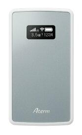 NEC エヌイーシー 【SIMフリー 】Aterm MP01LN SW シルバー [PAMP01LNSW] LTE/Wi-Fi [無線ac/n/a(5GHz) n/g/b(2.4GHz)]nanoSIMx1 SIMフリーモバイルルーター[PAMP01LNSW]