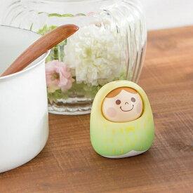 バンダイ BANDAI うなずきん Green apple