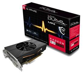SAPPHIRE サファイヤ グラフィックボード SAPPHIRE PULSE RADEON RX 570 ITX 4G GDDR5 HDMI / DVI-D / DP (UEFI) SA-PULSERX570ITX-4GGD5/11266-34-20G [4GB /Radeonシリーズ]【バルク品】 [SAPULSERX570ITX4GGD5]