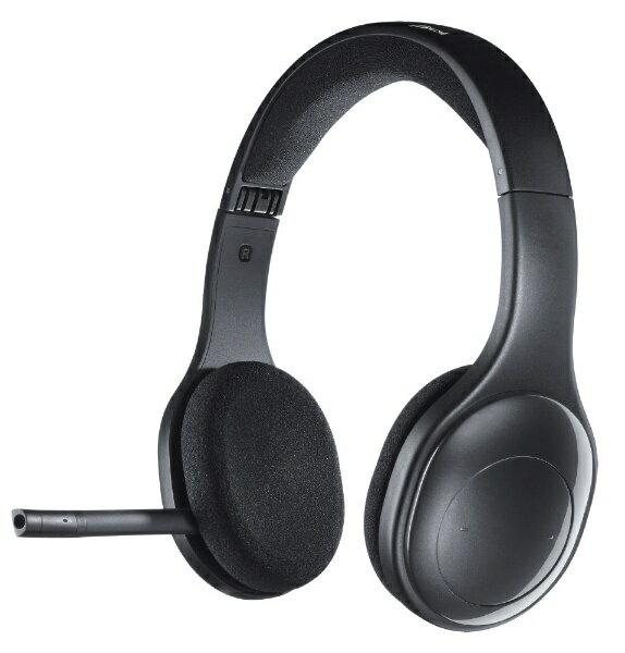ロジクール H800R ヘッドセット ブラック [ワイヤレス(Bluetooth) /両耳 /ヘッドバンドタイプ][H800R]