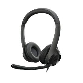 ロジクール Logicool ヘッドセット ブラック H390R [USB /両耳 /ヘッドバンドタイプ][H390R]