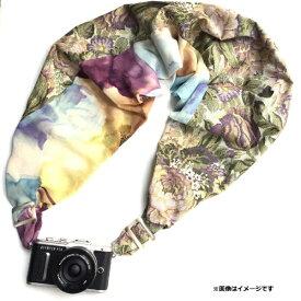 SSP SAKURA SLING PROJECT カメラストラップSAKURAカメラスリング (ブラウンジャガード/シフォンフラワーL) SCSL-081