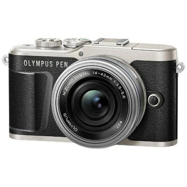 【送料無料】 オリンパス PEN E-PL9【14-42mm EZレンズキット】(ブラック/ミラーレス一眼カメラ)[PENEPL9EZレンズキット]