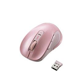 エレコム ELECOM 【ビックカメラグループオリジナル】M-NK01DBSPN マウス ピンク [BlueLED /5ボタン /USB /無線(ワイヤレス)][MNK01DBSPN]