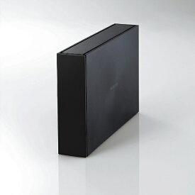 エレコム ELECOM ELD-ETV010UBK 外付けHDD ブラック [据え置き型 /1TB][ELDETV010UBK ハードディスク テレビ]