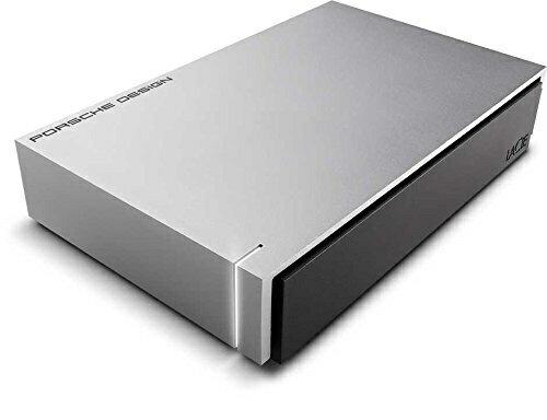 【送料無料】 エレコム 外付けHDD 4TB[USB-A 3.0・Mac/Win] LaCie Desktop Porsche STEW4000400 ライトグレー