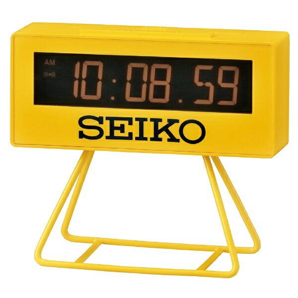 セイコー SEIKO セイコーミニスポーツタイマークロック SQ815Y[SQ815Y]